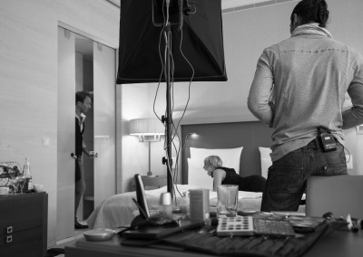 Fernsehdreh MDR Promo Susanne Klehn, Jean-Marc Birkholz, Mirko Joerg Kellner © Blanche Chantal Kellner