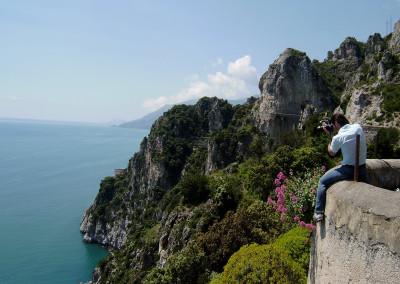 Mirko Joerg Kellner bei Fotoreportage an der Amalfiküste