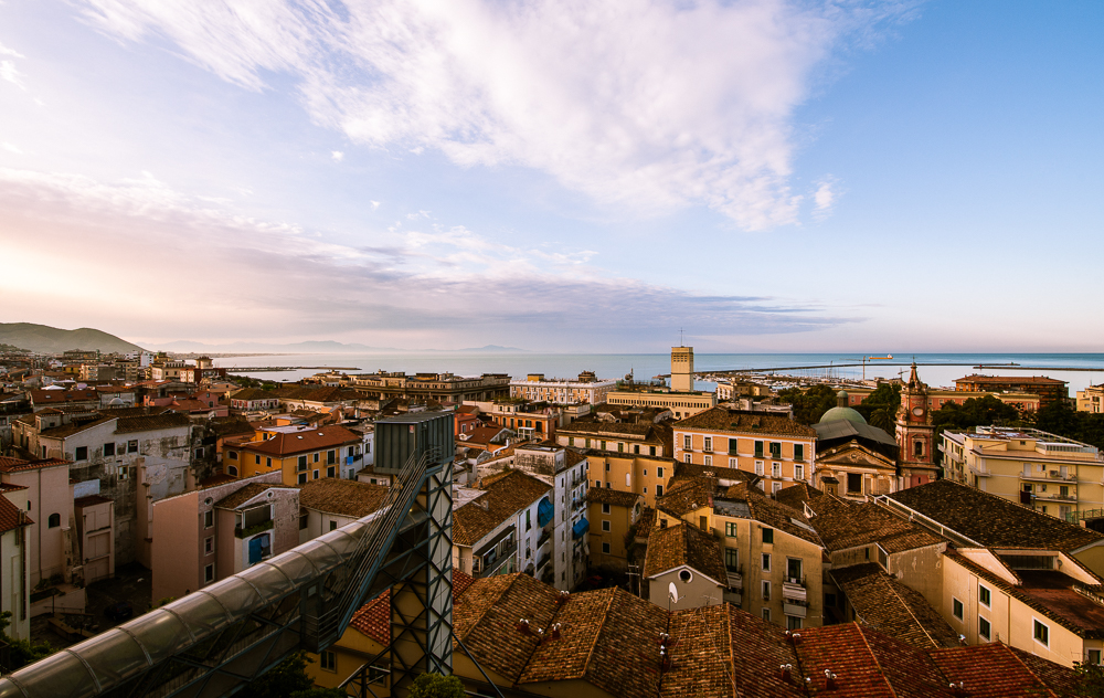 Guten Morgen Salerno © Fotokunstwerk von Mirko Joerg Kellner