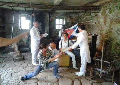 Shooting Klazz Brothers & Cuba Percussion Sony Music Mirko Joerg Kellner © Beate Kellner